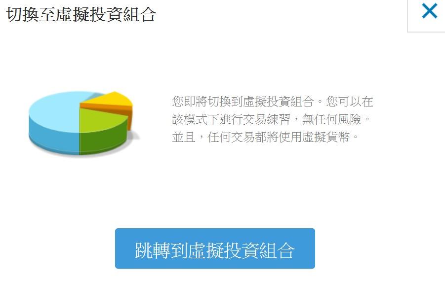 etoro虛擬投資組合