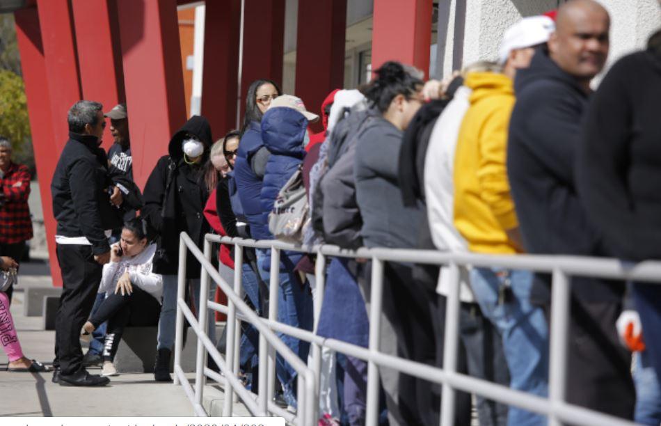 美國失業領取救濟金狀況